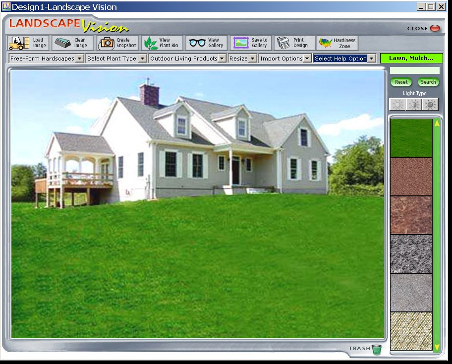 Click to view Landscape Vision 6.0 screenshot