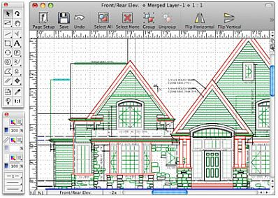MacDraft 6.1 And MacDraft 6.2 For OSX 10.6 And Above. Landscape Vision Home  Landscape Designing
