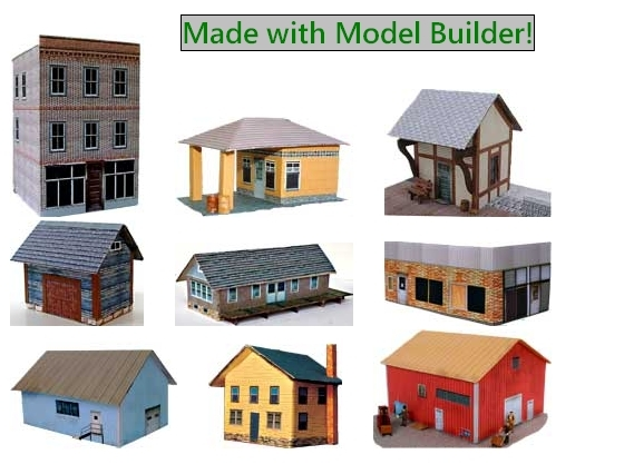 Model Builder--Make Your Own Model Railroad Scenery!